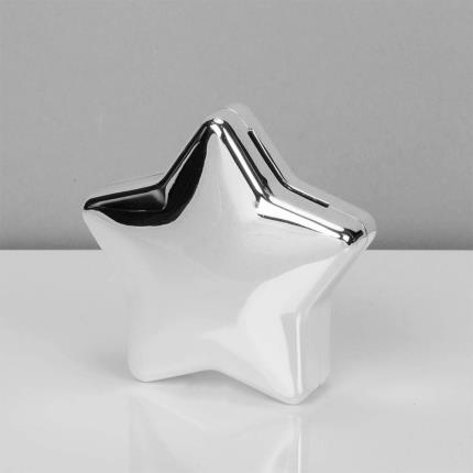 Toys & Games - Silver Plated Star Money Box - Image 2