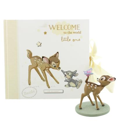 Toys & Games - Disney Bambi Album & Figurine Gift Set - Image 1