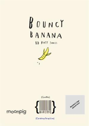 Greeting Cards - Bouncy Banana The Christmas 'Diet' Personalised Card - Image 4