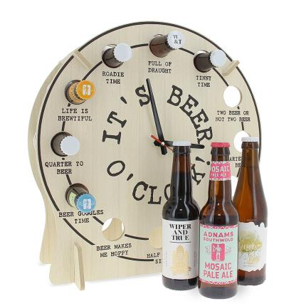 Alcohol Gifts - Tick Tock It's Beer O'Clock - Image 1