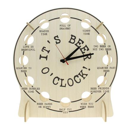 Alcohol Gifts - Tick Tock It's Beer O'Clock - Image 2