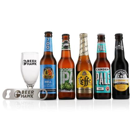 Alcohol Gifts - Beer Hawk Craft Beer Discovery Gift Set - Image 1