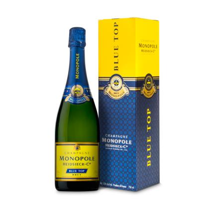 Alcohol Gifts - Heidsieck Monopole Blue Gift Box WAS £36 NOW £31 - Image 1