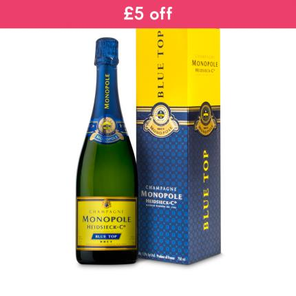 Alcohol Gifts - Heidsieck Monopole Blue Gift Box WAS £36 NOW £31 - Image 2