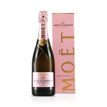 Alcohol Gifts - Moet Rosé Gift Box - Image 1