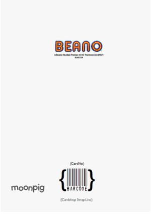 Greeting Cards - Beano Dennis The Menace Birthday Personalised Card - Image 4