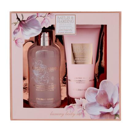 Beauty - Baylis & Harding Pink Magnolia & Pear Blossom Set - NEW! - Image 1