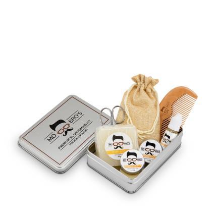 Beauty - Mo Bros Beard Grooming Kit 8 piece Vanilla & Mango Kit - Image 2