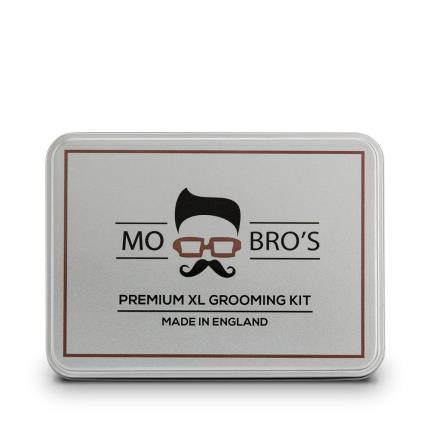 Beauty - Mo Bros Beard Grooming Kit 8 piece Vanilla & Mango Kit - Image 3
