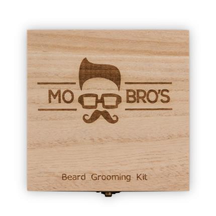 Beauty - Mo Bros Wooden Signature Beard Grooming Gift Box - Image 2