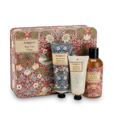 Beauty - Morris & Co Strawberry Thief Body Care Trilogy - Image 1