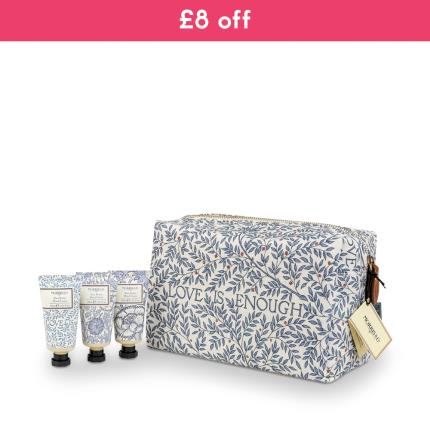Beauty - Morris & Co Love is Enough Hand Cream Trio & Cosmetic bag WAS £22 NOW £15 - Image 1