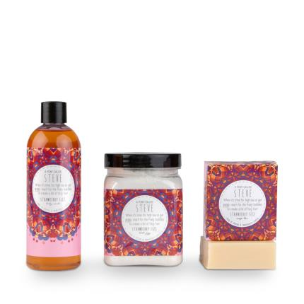 Beauty - Exclusive A Pony Called Steve Strawberry Fizz Bath Collection - Image 2