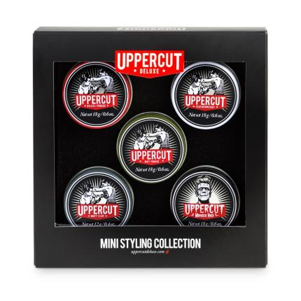Beauty - Upper Cut 5 tin Mini Styling Collection - Image 1