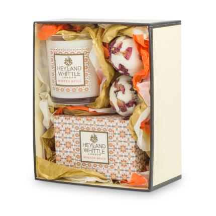 Beauty - Heyland & Whittle Winter Spice Bath and Home Set - Image 1