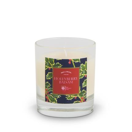 Beauty - RHS Hollyberry Large Glass Candle - Image 1