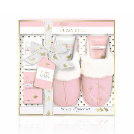 Beauty - Baylis & Harding Fuzzy Duck Pink Slipper Gift Set - Image 1