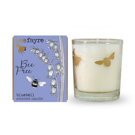 Beauty - Beefayre Voitive Bee Print Candle - Image 1