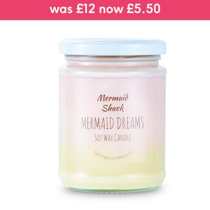 Beauty - Mermaid Ombre Candle - Image 1