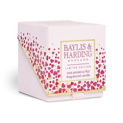 Beauty - Baylis & Harding Rose Prosecco Candle - Image 1