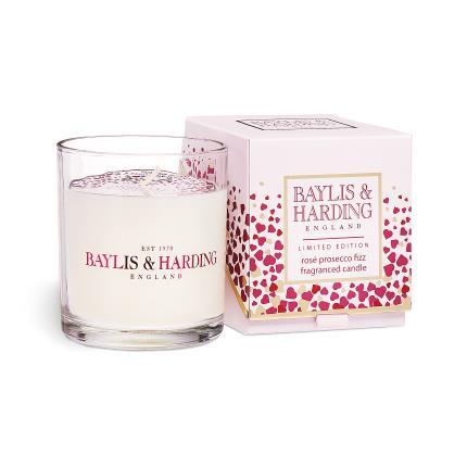 Beauty - Baylis & Harding Rose Prosecco Candle - Image 2