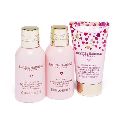 Beauty - Baylis & Harding Rose Prosecco Fizz Beauty Gift Set - Image 2