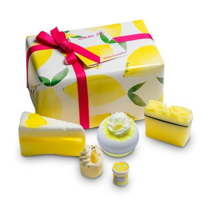 Beauty - Bomb Cosmetics Lemon Aid Bath Bomb Gift Pack - Image 1