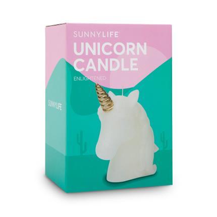 Beauty - Sunnylife Unicorn Shaped Candle - Image 1