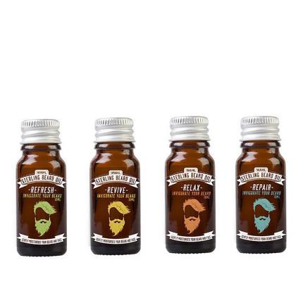 Beauty - Wahls Assorted Beard Oil Gift Set of 4 - Image 1