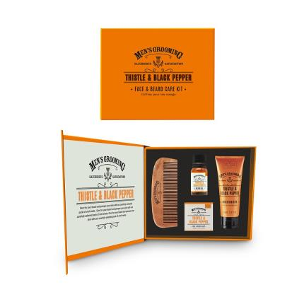 Beauty - Scottish Fine Soaps Men's Face & Beards Care Set - Image 1