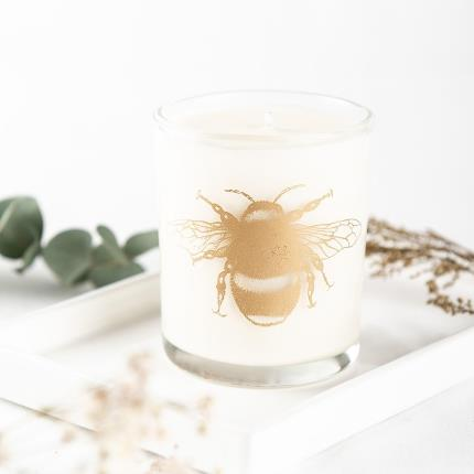 Beauty - Beefayre Mummy Bee Lavender & Geranium Scented Candle - Image 3
