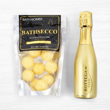 Beauty - Prosecco Bath Bombs & Bottega Gold Prosecco Gift Set - Image 3