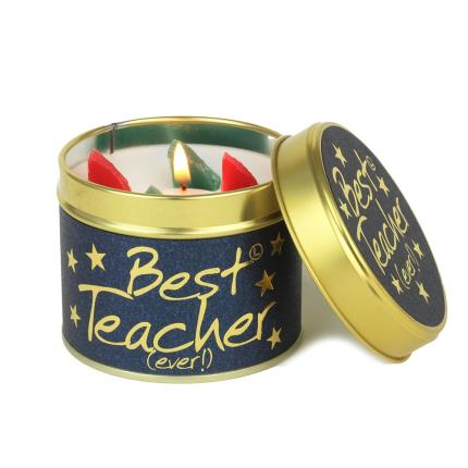 Beauty - Lily Flame Best Teacher Ever Candle - Image 1