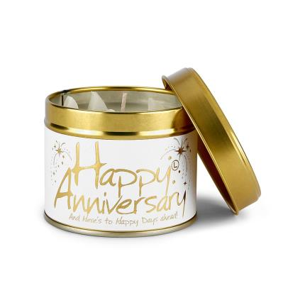 Beauty - Lily Flame Happy Anniversary Candle - Image 2