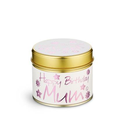 Beauty - Lily-Flame 'Happy Birthday Mum' Candle - Image 2