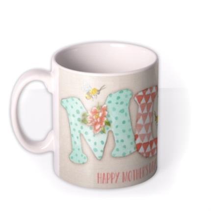 Mugs - Mother's Day MUM Personalised Mug - Image 1