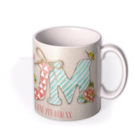 Mugs - Mother's Day MUM Personalised Mug - Image 2