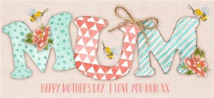 Mugs - Mother's Day MUM Personalised Mug - Image 4