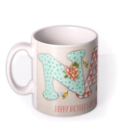 Mugs - Mother's Day NAN Personalised Mug - Image 1