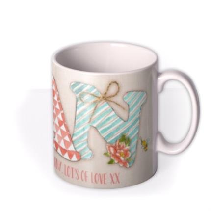 Mugs - Mother's Day NAN Personalised Mug - Image 2