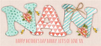 Mugs - Mother's Day NAN Personalised Mug - Image 4