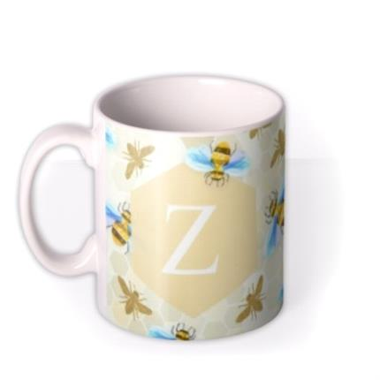 Mugs - Alphabet and Bumblebee Custom Mug - Image 1