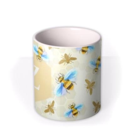 Mugs - Alphabet and Bumblebee Custom Mug - Image 3