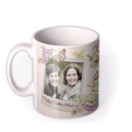 Mugs - Easter Tea and Cake Photo Upload Mug - Image 1