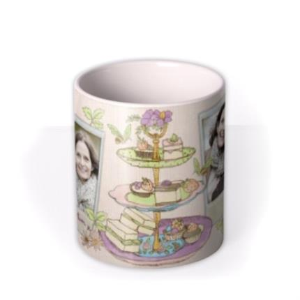 Mugs - Easter Tea and Cake Photo Upload Mug - Image 3