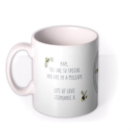 Mugs - You Are One In A Million Nan Personalised Mug - Image 1