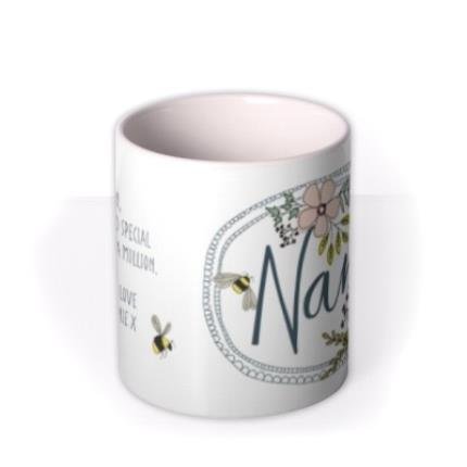 Mugs - You Are One In A Million Nan Personalised Mug - Image 3