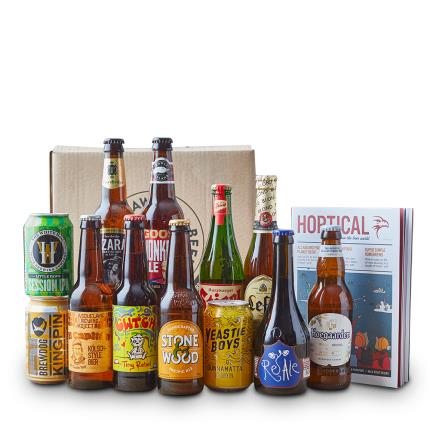 Alcohol Gifts - Beer Hawk 12 Beers from Around the World - Image 1