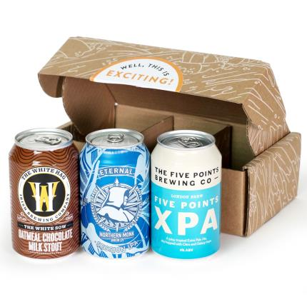 Alcohol Gifts - HonestBrew Mighty Mix Craft Beer Howler - Image 4