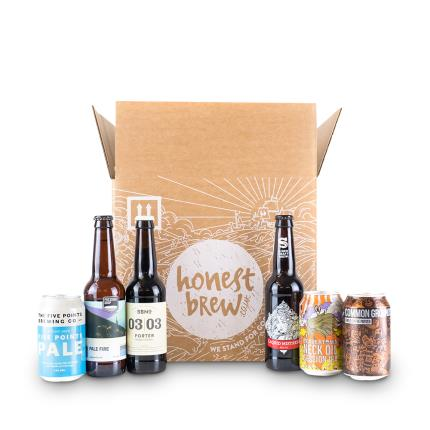 Alcohol Gifts - HonestBrew Best of British Craft Beer Mixed Case - Image 1